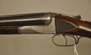 A. H. Fox Grade BE, 12 ga. side by side shotgun