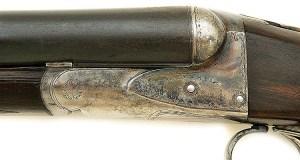 Rare 20 gauge A. H. Fox He Grade Superfox Double Ejectorgun Shipped To E.C. Crossman