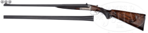 HOLLAND & HOLLAND .30-30 BOXLOCK EJECTOR DOUBLE RIFLE WITH EXTRA .410 BARRELS AND CASE
