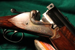 Merkel Model 200E O/U Double Barrel Shotgun: