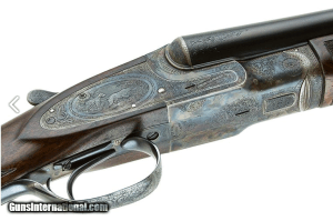 LC SMITH CROWN GRADE SxS SHOTGUN 16 GAUGE