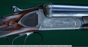 """J. Blanch & Son --- Scalloped Boxlock Ejector --- 12 Gauge, 2 3/4"""" Chambers"""