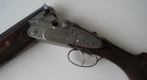 "Beretta S 2 12ga. Sidelock OU Shotgun 27 1/2"" M/F 1957"