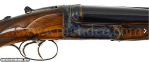 Westley Richards Droplock .500 Nitro Express SxS Double Rifle