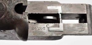 12 gauge Lefever Arms Co Double Barrel SxS Shotgun