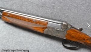 Greifelt Over/Under German 12 ga Shotgun.