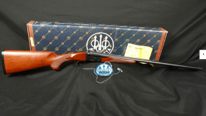 "Beretta Model 626 ONYX SXS Shotgun Single Selective Trigger 28"" MFD 1992, Factory Box Screw-In Chokes 20 Gauge"