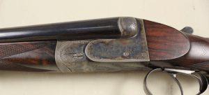 DONCKIER LIEGE SIDE-BY-SIDE DOUBLE RIFLE 450 NITRO EXPRESS