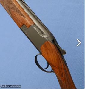 Browning Superposed - A1 Superlight - 20ga - OU - English Stock Schnabel Forearm - IC / IM Choke