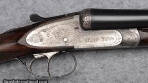 Emile Warnant SxS Sidelock Shotgun 12 gauge
