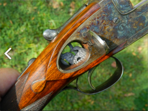 Exceptional 20g Westley Richards Ovundo Over-Under Shotgun. Pic courtesy Lewis Drake & Associates.