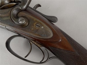 Antique 12g W & C Scott SxS Hammergun on Gunbroker.com