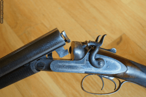 James Purdey 10 Bore SxS Hammer Gun