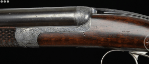 "EARLY AND RARE MACNAUGHTON ""SKELETON"" ROUND ACTION DOUBLE RIFLE"