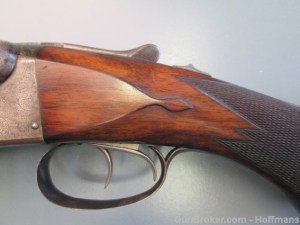 16g Parker Brothers DHE SXS Double Barrel Shotgun, O Frame