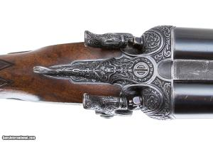 JAMES PURDEY & SONS BEST BARRE ENGRAVE SIDELOCK SXS HAMMER SHOTGUN 12 GAUGE KING ALFONSO OF SPAIN