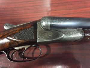 ANSLEY FOX 12 GAUGE SHOTGUN C GRADE