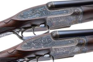 "James Purdey & Sons, pair of 12 gauge sidelock SxS shotguns with ""Extra Finish"""