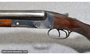 Winchester Model 21 Side By Side 12 Ga Double Barrel Shotgun