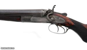 W.W. Greener - Damascus SxS Hammergun - 12 ga: Price: $5,900