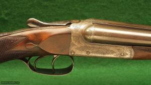 Charles Osborne Model Boxlock Non Ejector SxS Shotgun Caliber 410 GA