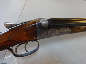 "AH Fox A Grade 20Ga SxS Shotgun 28"" M/F #4 weight barrels"