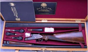 F.E. Malin Victoria Deluxe SxS Sidelock Shotgun ~ 20 Ga. ~ Two Barrel Set