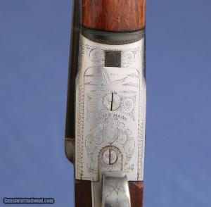 1960 - Beretta Model 409 - Silver Hawk SxS Shotgun