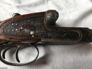 1958 HOLLAND & HOLLAND ROYAL 12 GAUGE, 3 INCH CHAMBER SELF OPENER LIVE PIGEON GUN