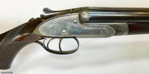 Extraordinary Purdey 450/360 Double Rifle Formerly Owned by Prime Minister of Great Britain