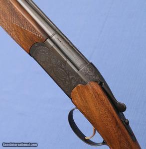 "BERETTA - BL-4 - 20ga, OU, 26"" IC / M - Single Selective Trigger - Ejectors - Round Knob Stock"