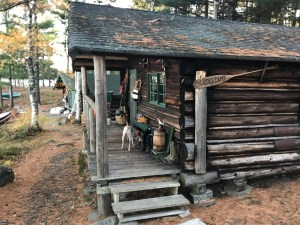 Classic wood cabins at Chandler