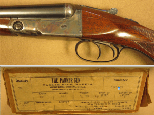 Parker VH Grade 20 Gauge Double Shotgun, 26 Inch Barrels, Very Rare with Original Box
