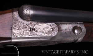 "Parker DHE 16 Gauge SxS Shotgun - 30"", ALL FACTORY FINISHES SKELETON BUTT"