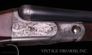 "Parker DHE 16 Gauge SxS Shotgun - 30"", ALL FACTORY FINISHES SKELETON BUTT"