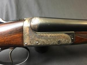 WEBLEY & SCOTT Model 100 16GA Side-by-Side Boxlock Shotgun