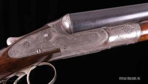 Lefever EE Grade 12ga. SxS Shotgun – BEAUTIFUL DAMASCUS, GREAT DIMENSIONS