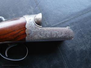 Westley Richards20 bore Hand Detachable (drop lock) Ejector, Side-by-Side Shotgun