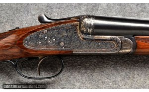 Lucio Loyola S/S Sidelock Shotgun - 12 Gauge