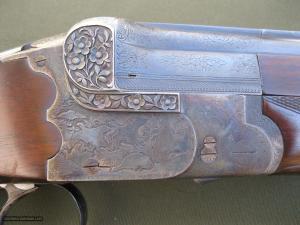 Greifelt Grade 1 20ga O/U Double Barrel Shotgun: