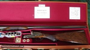 """Boss & Co. Heavy 3"""" Proof Side-by-Side Pigeon Gun"""