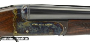 Westley Richards & Co. Gold Name 20 Gauge SxS Boxlock Ejector Shotgun