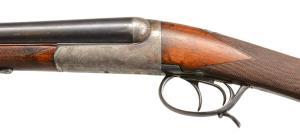 Lot # 1022: FRENCH MANUFRANCE MODEL IDEAL 2R SXS SHOTGU