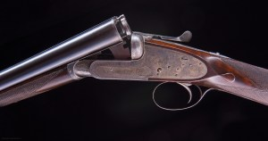 "Boss & Co. 20 gauge Sidelock SxS Shotgun, #7201, 28"" bbls, made around 1924"