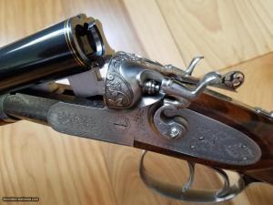 SIACE 28 Gauge Side-by-Side Self-Cocking Hammer Shotgun
