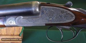 Aug. Francotte Sidelock Ejector 12 Bore Double Barrel Shotgun