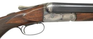 12G A.H. FOX HE GRADE SUPER FOX SXS SHOTGUN, Coming up at PoulinAuctions.com 10/0/18
