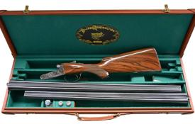 LOT 1100 - PARKER REPRODUCTION DHE GRADE TWO BARREL SET, coming up at Poulinauctions.com on 10/20/18