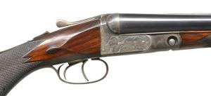 LOT 1093 - 12G PARKER DHE SXS SHOTGUN, coming up at PoulinAuctions.com on 10/20/18