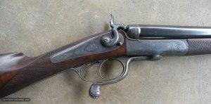 """James Purdey & Sons 450 3 1/4"""" BPE SxS Double Rifle"""